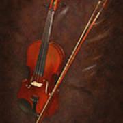 Artist's Violin Poster