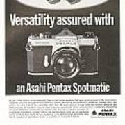 Asahi Pentax Spotmatic Poster