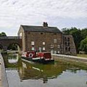 Ashby Canal At Moira Furnace Poster