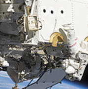 Astronauts Participate Poster