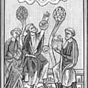 Astronomy, 13th Century Poster
