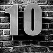 At Number 10 Poster