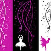 At The Ballet Triptych 2 Poster