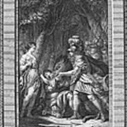 Atalanta And Meleager Poster