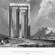 Athens: Olympian Zeus Poster