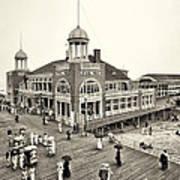 Atlantic City Steel Pier 1910 Poster