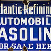 Atlantic Refining Co Sign Poster