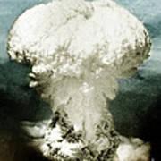 Atomic Bombing Of Nagasaki Poster