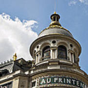 Au Printemps - Paris Poster
