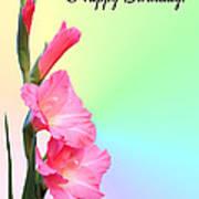 August Birthday Poster