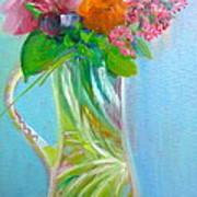 August Bouquet Poster