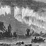 Aurora Borealis, 1868 Poster