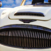 Austin Healey Poster by Bill Cannon