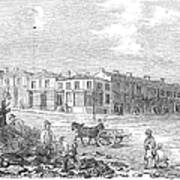Australia: Melbourne, 1853 Poster