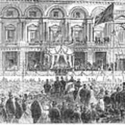 Australia: Melbourne, 1863 Poster
