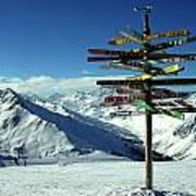 Austria Mountain Road Show Poster