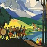 Austrian Alps Poster