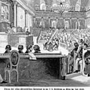 Austrian Assembly, 1848 Poster