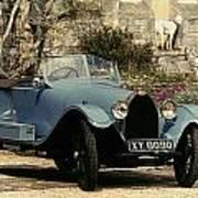 Auto: Bugatti Type, 1925 Poster