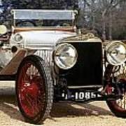Auto: Hispano-suiza, 1912 Poster