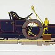 Auto: Rolls-royce, 1908 Poster