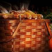 Autumn - Gourd - Fresh Corn Poster