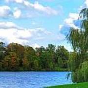 Autumn At Hoyt Lake Poster