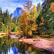 Autumn At Yosemite Poster