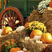 Autumn Bounty Vertical Poster