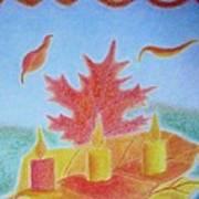 Autumn Breeze Poster