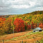 Autumn Farm 2 Poster