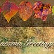 Autumn Greeting Card IIi Poster