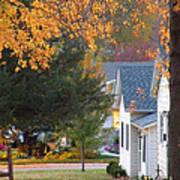 Autumn In Nebraska City No.4 Poster