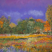 Autumn In Nisqually Poster