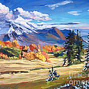 Autumn In The Foothills Poster