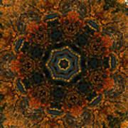 Autumn Mandala 5 Poster