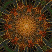 Autumn Mandala 6 Poster