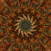 Autumn Mandala 7 Poster
