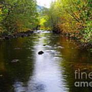 Autumn On Satus Creek  Poster