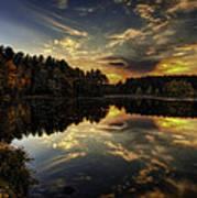 Autumn Sunset 2 Poster