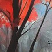Autumn Trees Poster