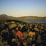 Autumn View Across Baxter State Park Poster
