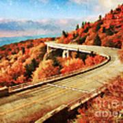 Autumn Views Poster by Darren Fisher