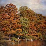 Autumn's Edge Poster