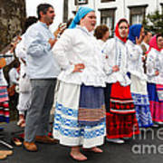 Azorean Folk Music Group Poster