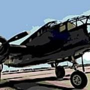 B-25 Bomber Poster