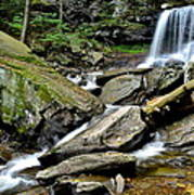 B Reynolds Falls Poster by Frozen in Time Fine Art Photography