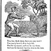 Baa, Baa, Black Sheep, 1833 Poster by Granger