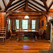 Babcock Cabin Interior 2 Poster