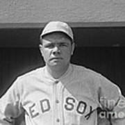 Babe Ruth 1919 Poster
